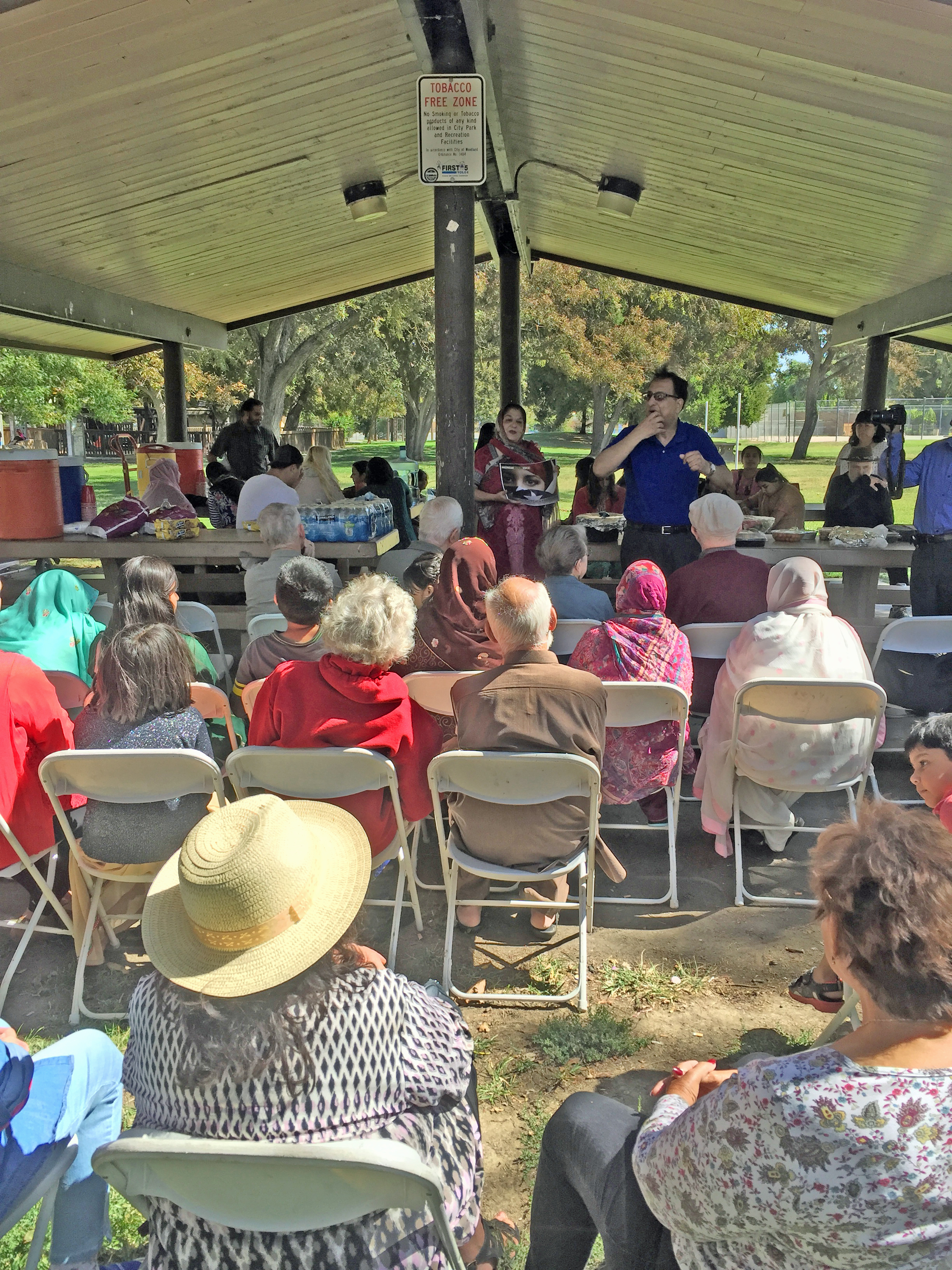 Annual Interfaith Peace Celebration was held on September 23, 2017 at Ferns Park in Woodland.